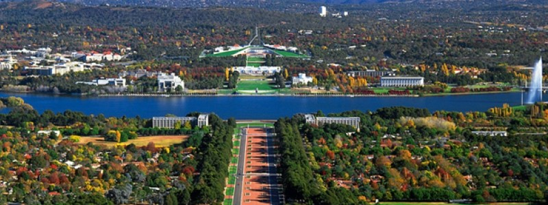 Beautiful city of Canberra